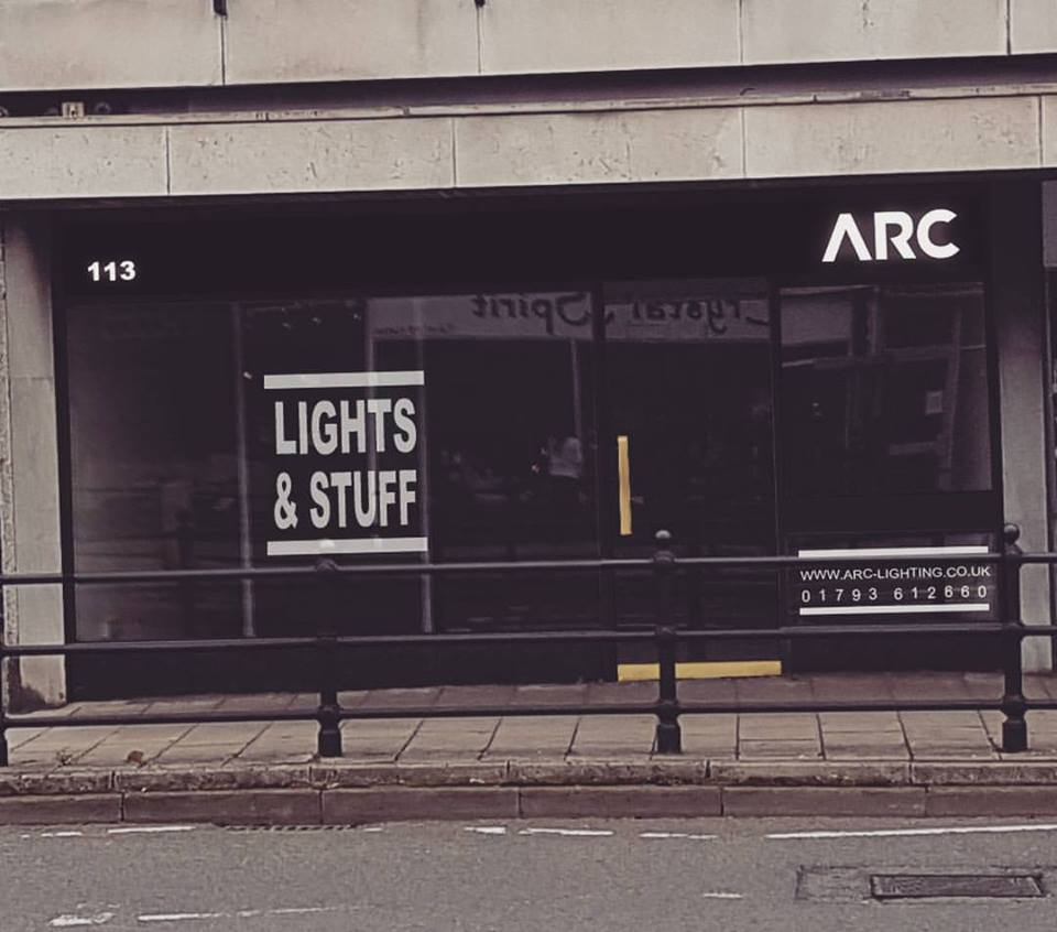 arc lighting to open new store in old town total swindon
