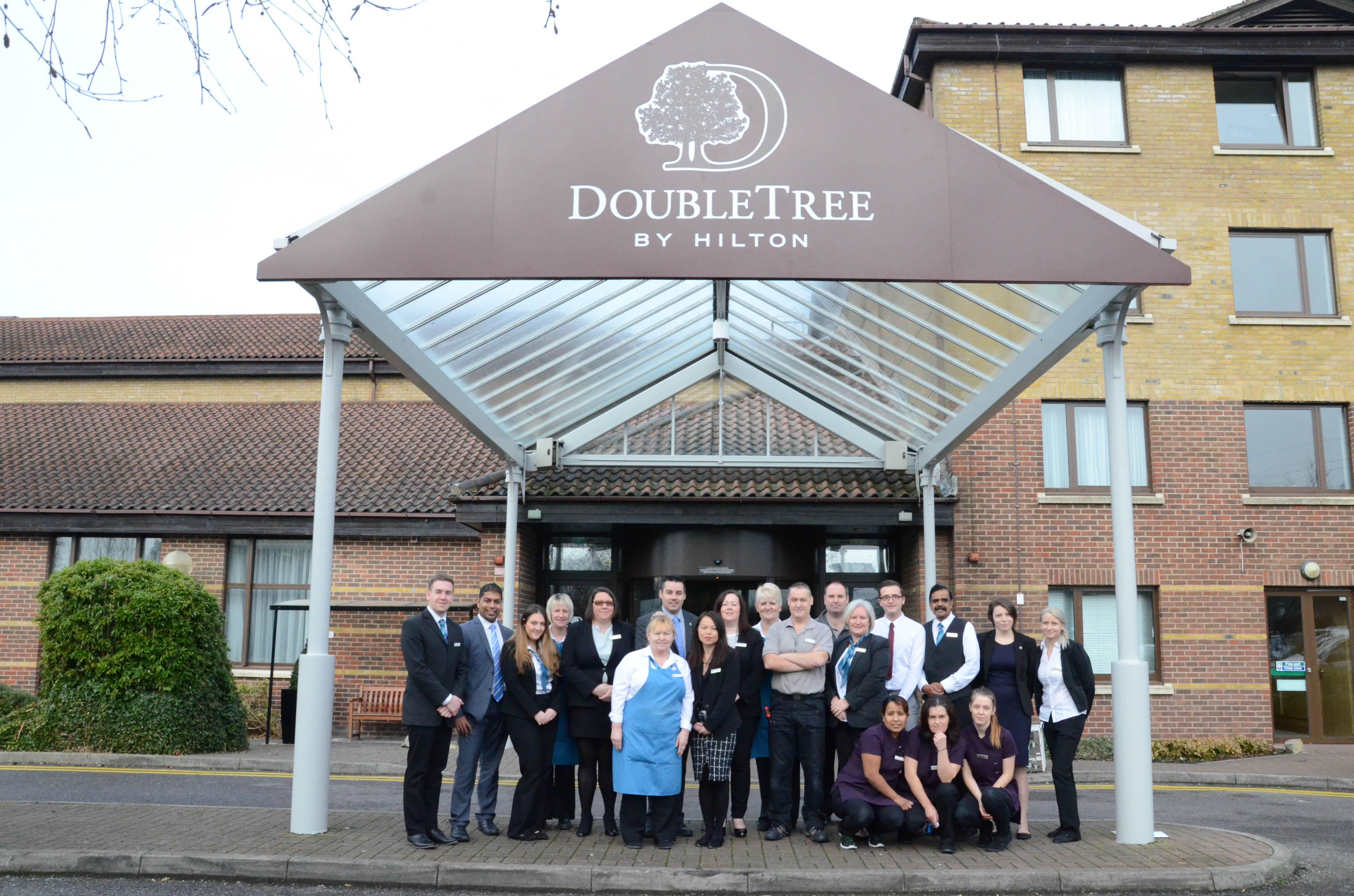 swindon welcomes renovated doubletree by hilton hotel in. Black Bedroom Furniture Sets. Home Design Ideas